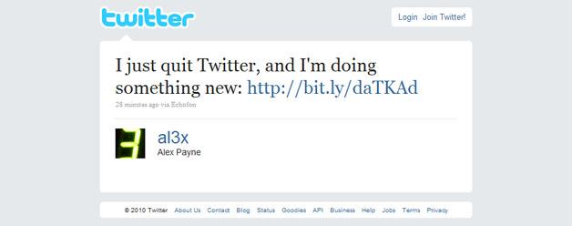 Key Engineer Leaves Twitter