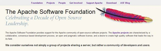 Facebook Becomes Sponsor Of Apache Software Foundation