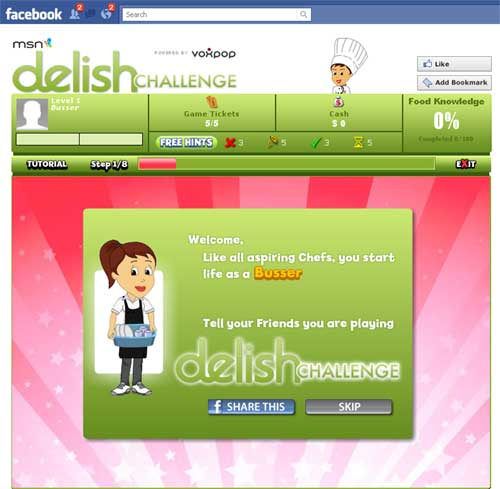 Delish.com Launches Social Trivia Game On Facebook
