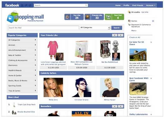 Facebook-Shopping-Mall