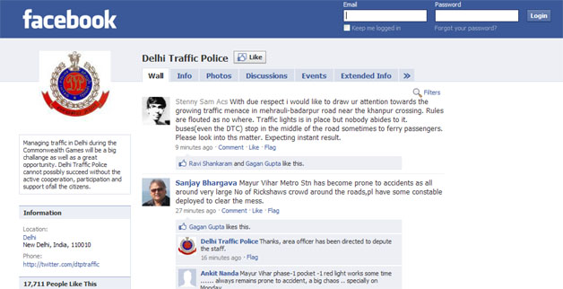 Indian Police Use Facebook To Issue 665 Tickets