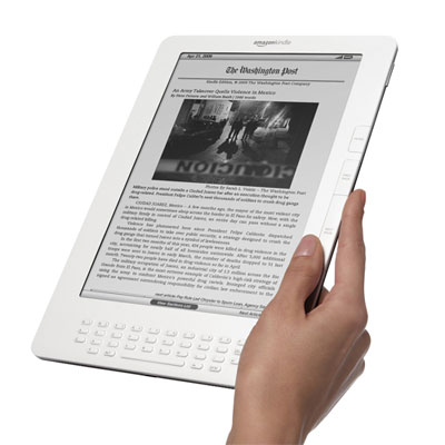 Amazon.com Launches Kindle DX Globally