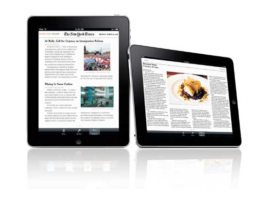 The New York Times Rolls Out iPad App