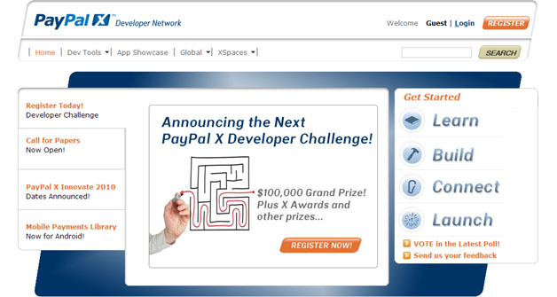 Second PayPal X Developer Challenge Announced