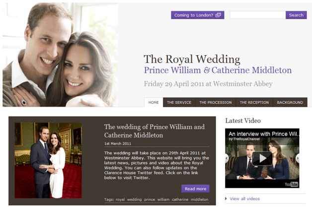 Google picked for royal wedding site hosting duties anyway its hard to imagine a higher honor for google in relation to this event after all every update pertaining to the wedding is now in the companys junglespirit Choice Image