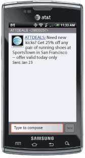 AT&T Launches Location-Based Shop Alerts