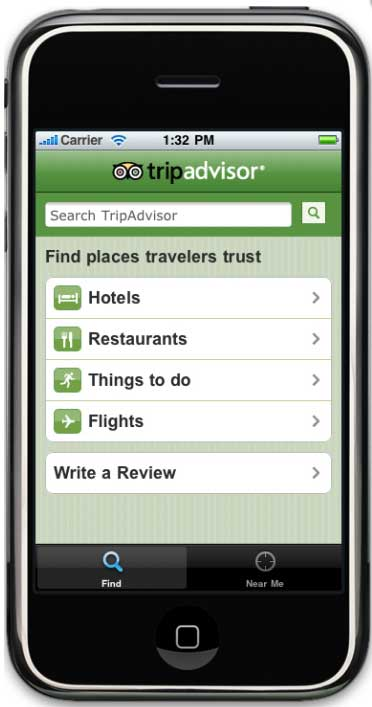 TripAdvisor Launches New iPhone App