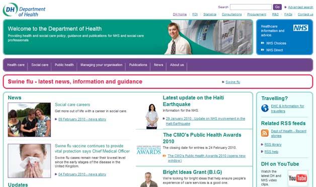 UK's Department Of Health Reveals $4.25m AdWords Tab