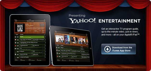 Yahoo Entertainment For The iPad Debuts