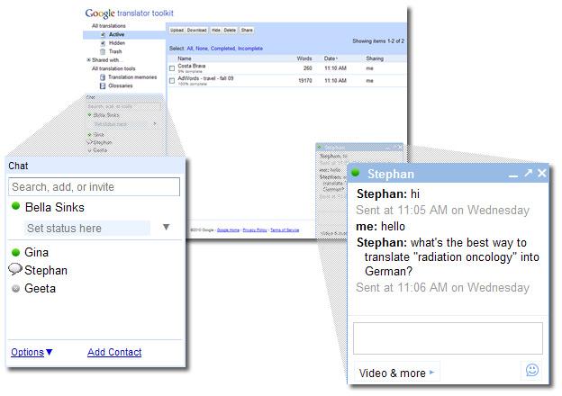 Google Adds Chat to Translator Kit