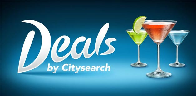 Deals by CitySearch Launched