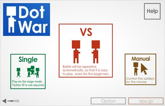 Dot War - Twitter Icon Battle
