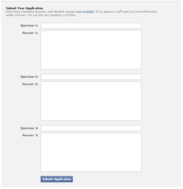 Facebook Calls for Beta Testers for Q&A Product