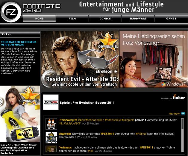 Fantastic Zero acquired by Glam Media