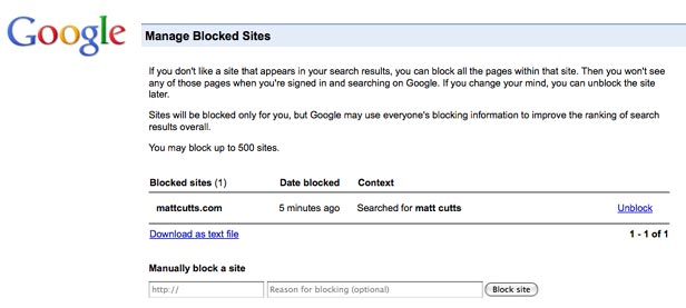 Google Lets You Export Your Blocked Sites From Chrome to