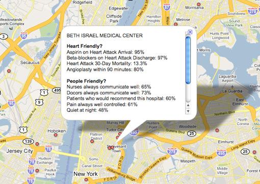 Google Health Map