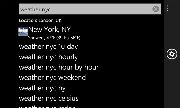 Google on Windows Phone 7