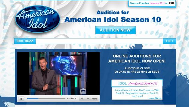 American Idol on MySpace