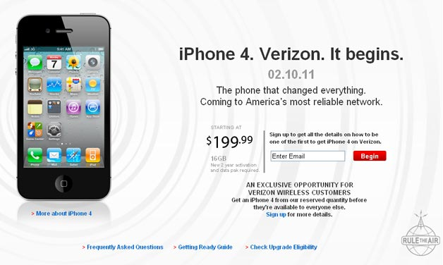 iPhone Comes to Verizon