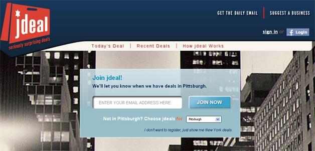 Jdeal, another niche deals site