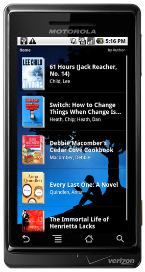 Kindle for Android Gets an Update