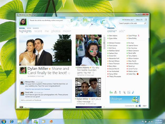 Microsoft Previews New Windows Live Messenger Beta
