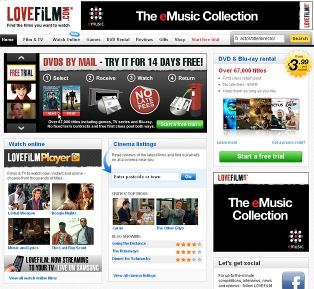 Amazon looking to buy LoveFilm?
