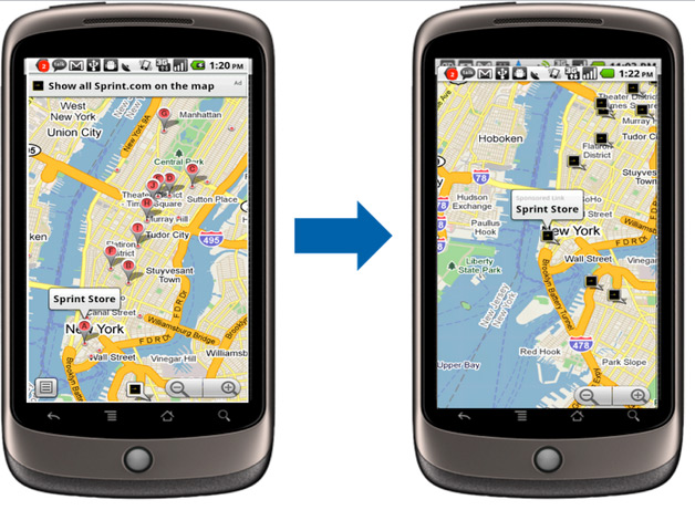 Mobile Location Extensions