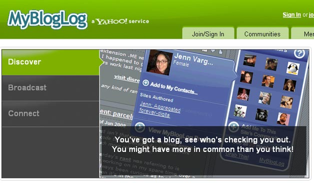 MyBlogLog To Shut Down Soon