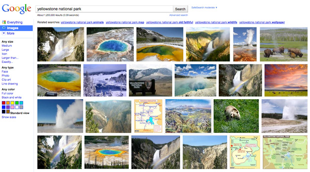 Webmasters Complain About New Google Image Search