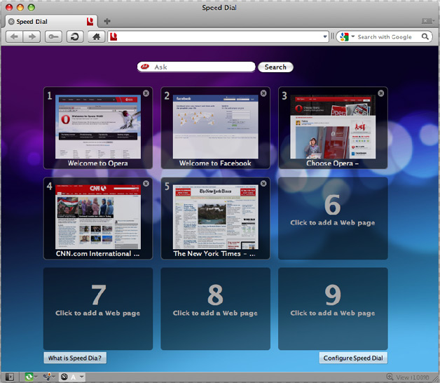 Opera for Mac - Is it as fast as they say it is?