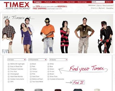 Timex Amazon Webstore