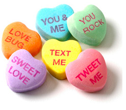 Twitter Earns Itself a Candy Heart Phrase