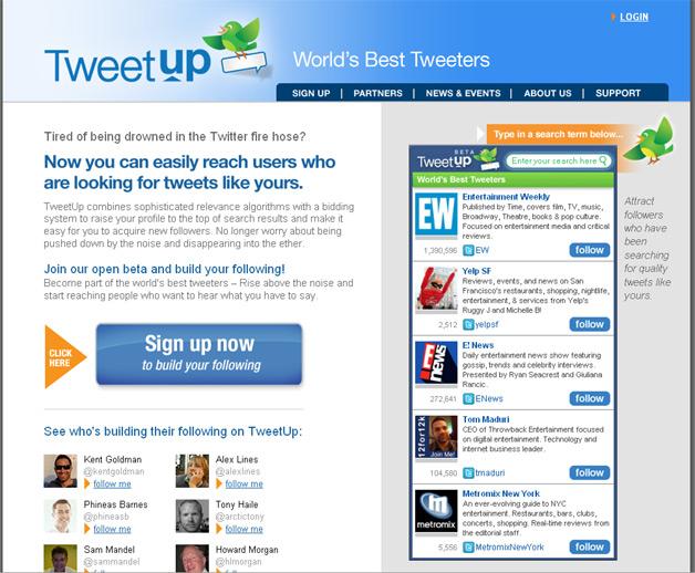 TweetUp - Now PostUp