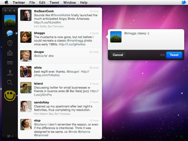 Twitter for Mac Comes to Mac App Store