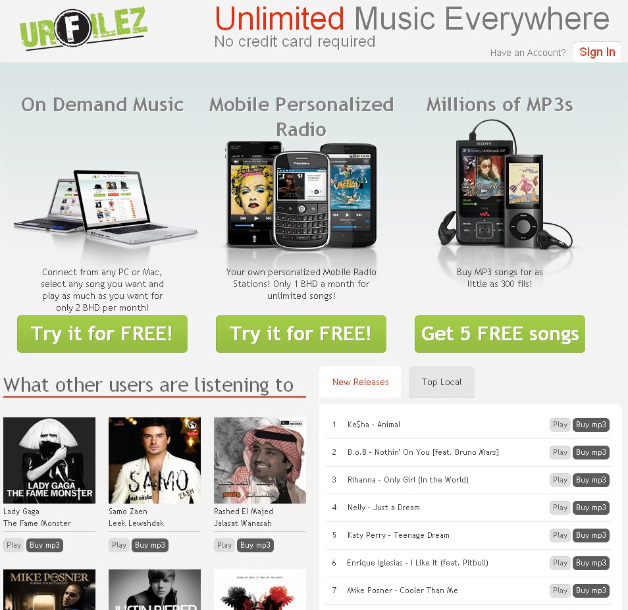 URFilez launches in Middle East