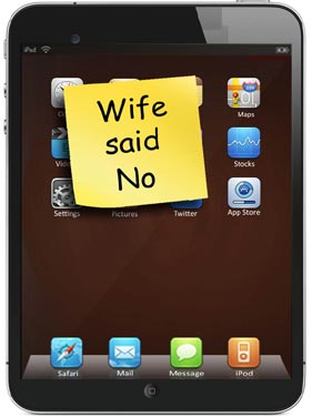 Wife Said No Note Said to Be Sent to Apple with iPad 2 Return