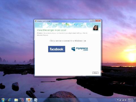 Windows Live Messenger and Hotmail get MySpace integration