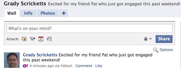 Yahoo Brings Facebook to the Inbox