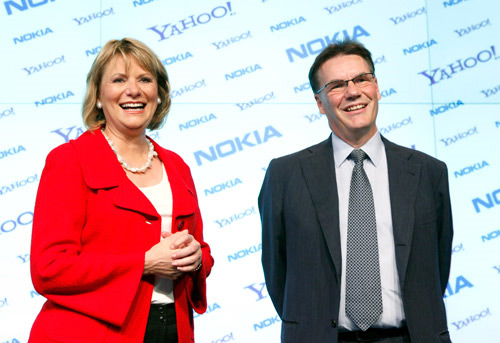 Yahoo and Nokia Team Up on Mobile Messaging, Maps