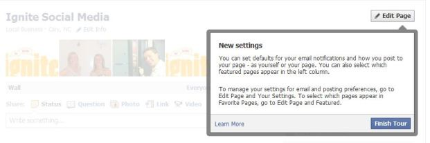how to change admin person on facebook page