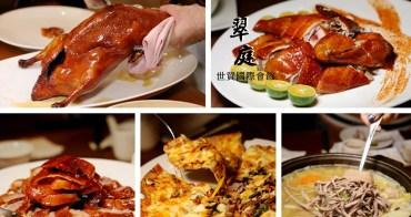 台北101世貿站   世貿國際會館翠庭 雞鴨料理新吃法 週四週五晚餐烤鴨免費升級五吃