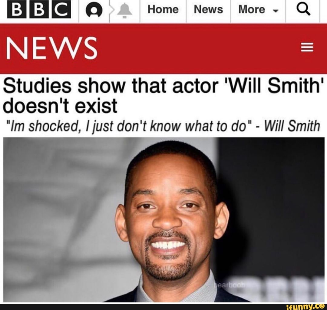 News Stu S Show That Actor Will Smith Doesn T Exist