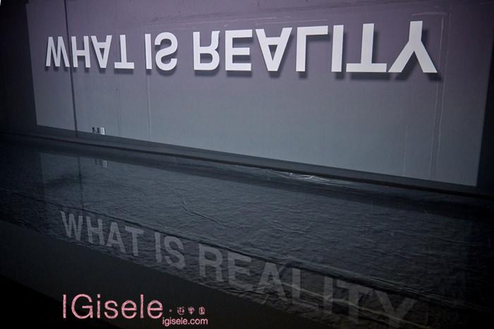 2014雪花文化展 SKIN=NIKS  4F藝術作品 - 夢境之內- 牆面與水面因為文字,產生嶄新的關係聯結 2