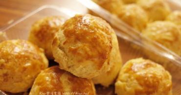 台中梧棲美食推薦︱三美珍餅行.菠蘿蛋黃酥,不甜不膩口如曲奇餅口感好層次感