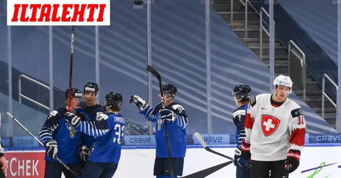 """Suomi iski komeita maaleja – 18-vuotias Tapparan mies herkutteli: """"Mää pistän sen takakulmaan siitä!"""""""