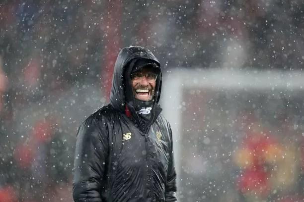 Naurattaako Liverpool-manageri Jürgen Kloppia vielä jouluruuhkan jälkeen?