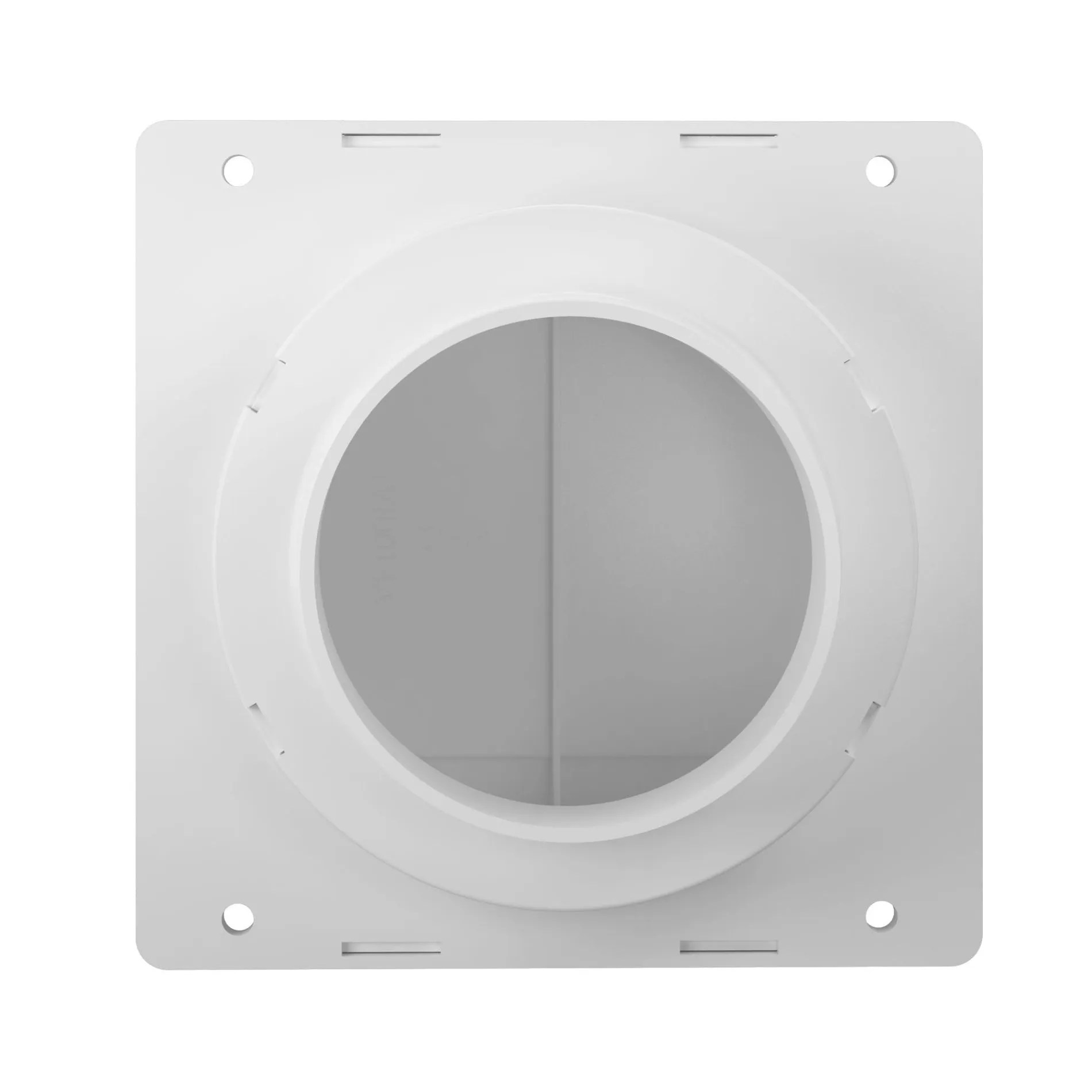 soffit exhaust vent for 3 or 4 duct
