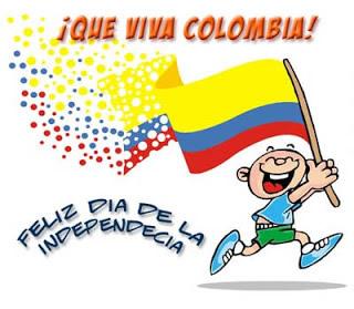 Resultado de imagen para Caricaturas del día de la Independencia de Colombia