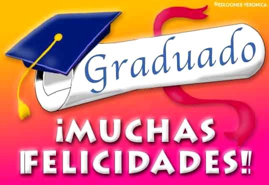 De Para Frases Felicitacion Graduacion